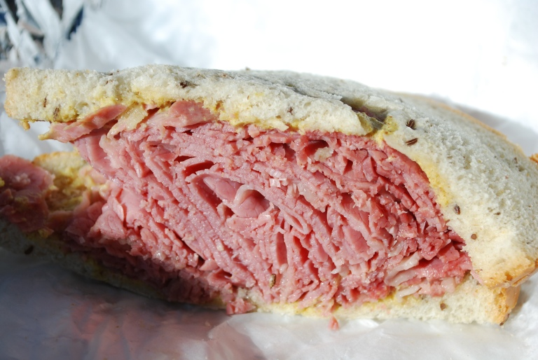 Corned Beef on Rye from Lenny's Deli