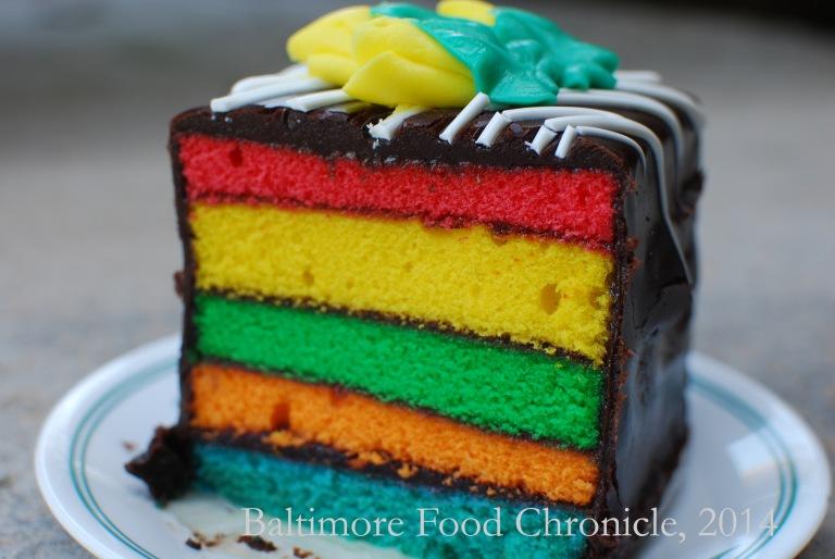 Rainbow Cake 1