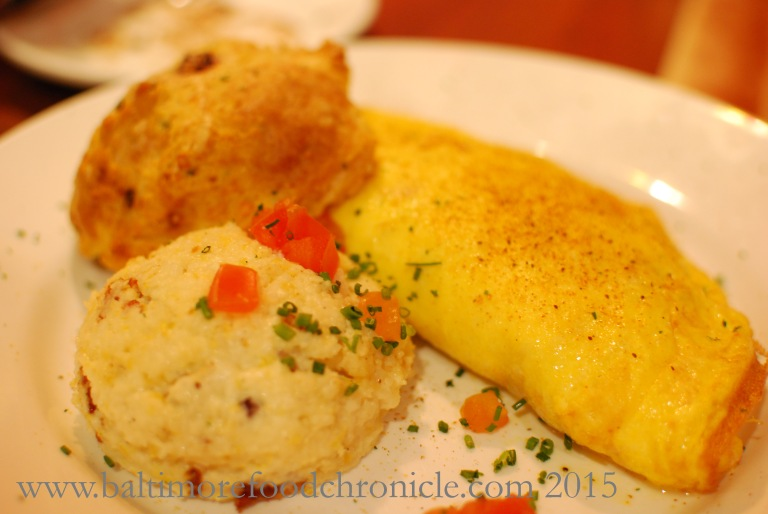 Maryland Omelette with Jumbo Lump Crab Meat